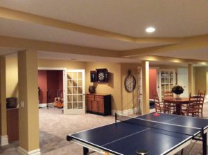 The Basic Basement Co._finished basement with home gym and music room_New Hope-PA_February 2014