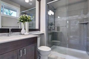 Remodeled Full and Half Bathrooms - Bathtubs, Showers, Vanities, Tile Floors, Custom Finishing, and More.