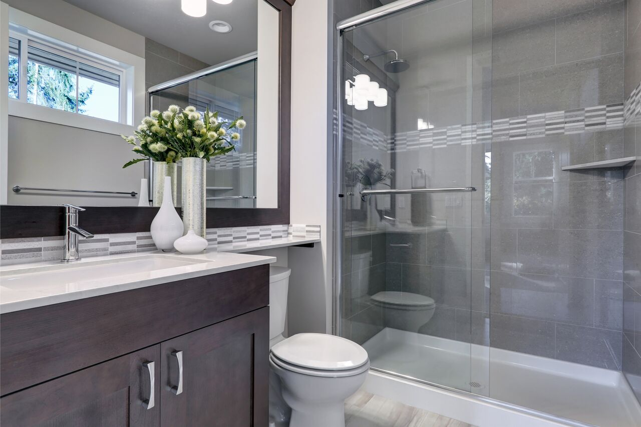 Remodeled Full Bathrooms - Bathtubs, Showers, Vanities, Tile Floors, Custom Finishing, and More.