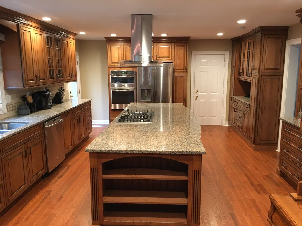 Remodeled Kitchens - Cabinets, Countertops, Backsplashes, Custom Islands, and More.